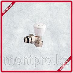 Клапан лат. Радиаторный термостатический угловой