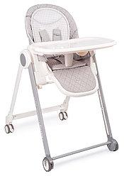 Стул для кормления Happy Baby Berny Basic Light Grey