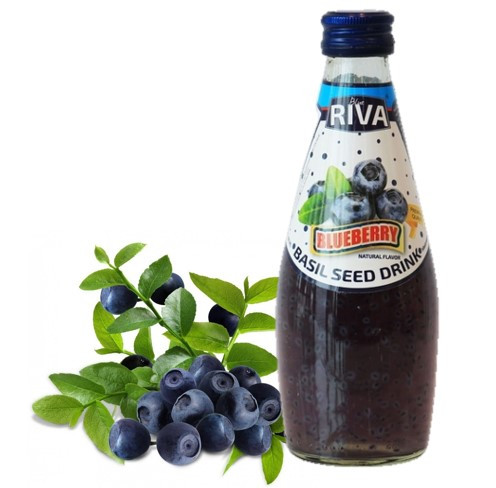 Напиток Семена базилика с ароматом  Черники  290 мл