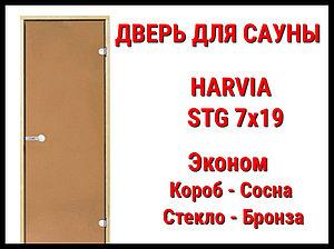 Дверь для сауны Harvia STG 7х19 Эконом