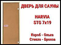 Дверь для сауны Harvia STG 7х19 (Короб-Ольха)