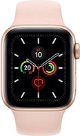 Смарт-часы Apple Watch Series 5 GPS 40mm Aluminium Case with Pink Sand Sport Band (266476) Gold, фото 1