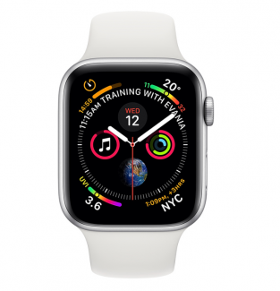 Смарт-часы Apple Watch Series 4 GPS 44mm (A1978 MU6A2GK/A) Silver