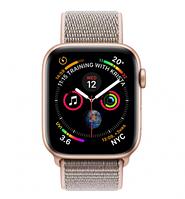 Смарт-часы Apple Watch Series 4 GPS 40mm Aluminium Case with Pink Sand Sport Loop Model (A1977 MU692GK/A) Gold, фото 1