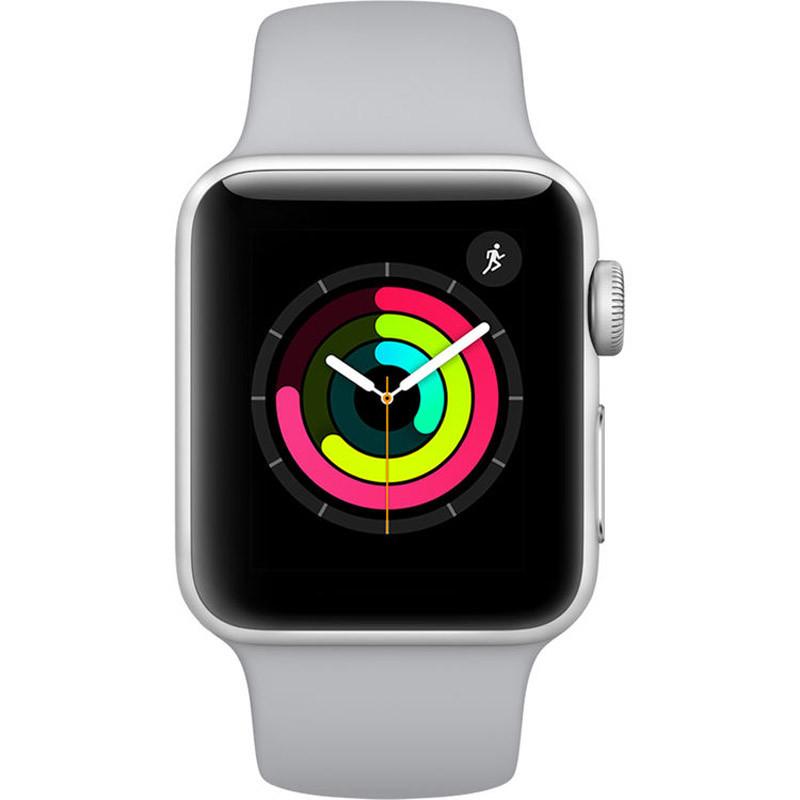 Смарт-часы Apple Watch Series 3 GPS 38mm Aluminium Case with Fog Sport Band (Model A1858 MQKU2GK/A) (50786)