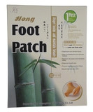 Пластырь для стоп детокс Foot Patch (без добавок), 10 шт