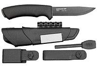 Нож MORAKNIV Мод. SURVIVAL BLACK - лезвие (High Carbon Steel) (чехол: полимер) R 15971