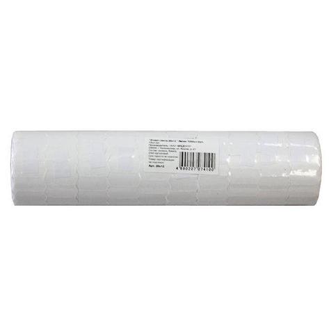 Этикет лента 21,5*12 мм., бел., бум. 800 эт/рул, фото 2