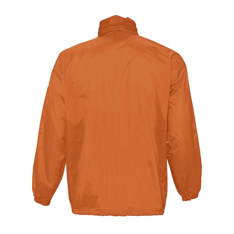 Ветровка водоотталкивающая унисекс SURF, Оранжевый, S, 732000.400 S - фото 2