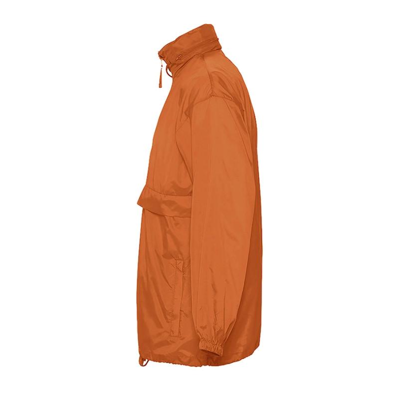 Ветровка водоотталкивающая унисекс SURF, Оранжевый, S, 732000.400 S - фото 3