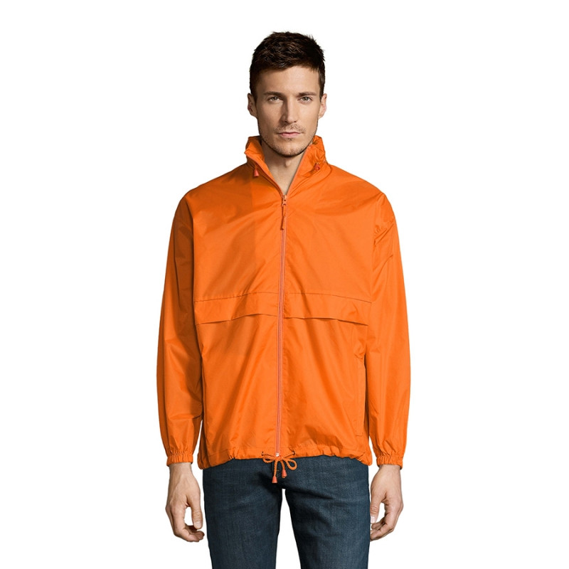 Ветровка водоотталкивающая унисекс SURF, Оранжевый, S, 732000.400 S - фото 4
