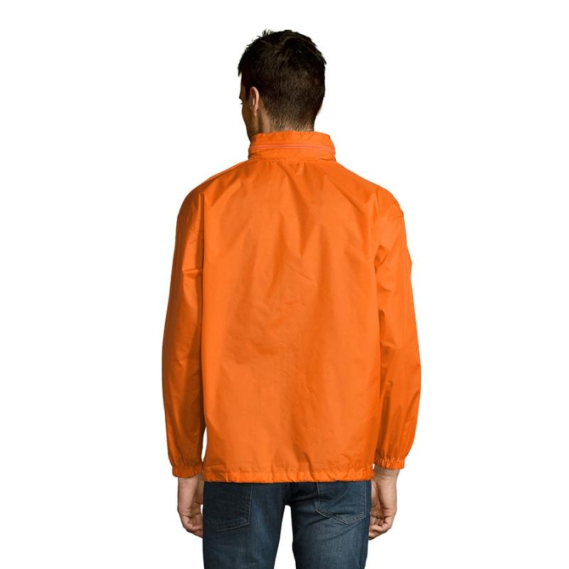 Ветровка водоотталкивающая унисекс SURF, Оранжевый, S, 732000.400 S - фото 5