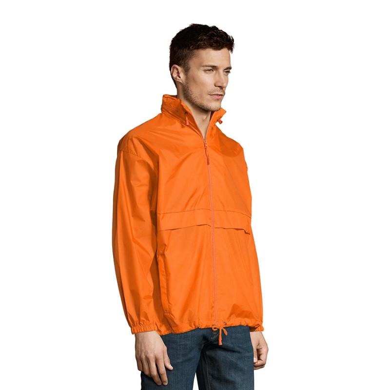 Ветровка водоотталкивающая унисекс SURF, Оранжевый, S, 732000.400 S - фото 6