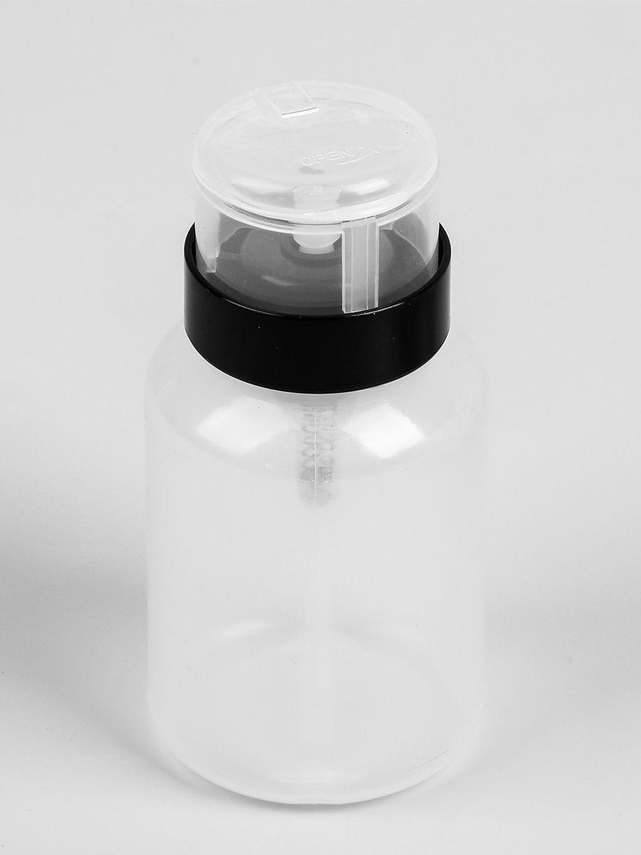 Дозатор для спирта 200 мл, с пластиковой помпой