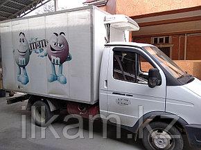 Доставка по городу Алматы газель рефрежератор, фото 2