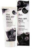 Маска-пленка с древесным углем Ekel Peel Off Pack Charcoal