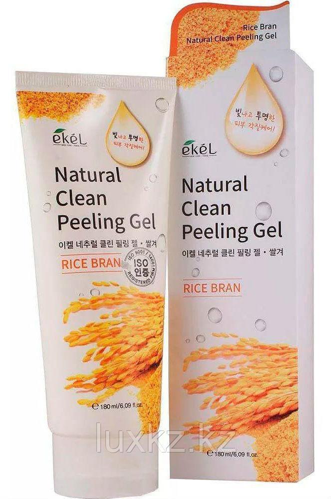 Пилинг-скатка с экстрактом риса Ekel Natural Clean Peeling Gel Rice Bran