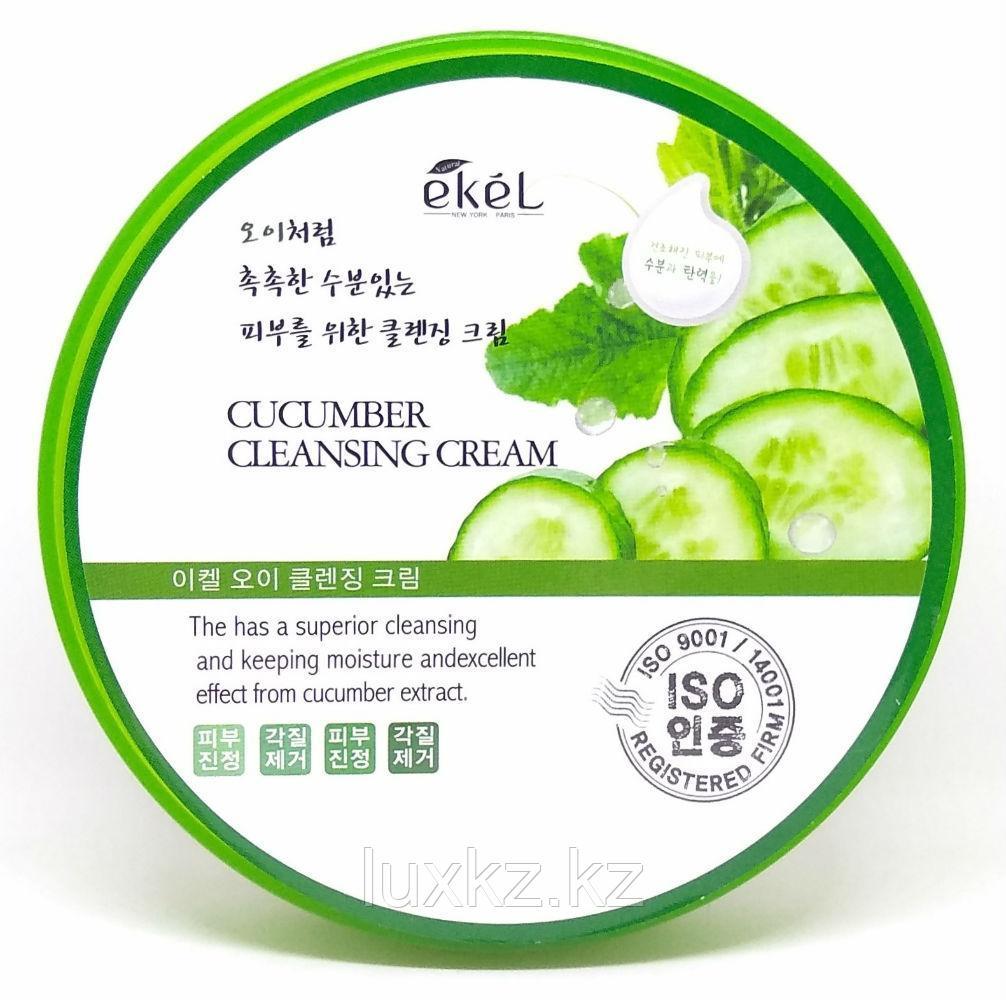 Очищающий крем с экстрактом огурца Ekel Cucumber Cleansing Cream