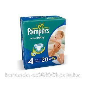 Pampers Подгузники Pampers, Active Baby Maxi, 4, L, 20 шт/упак.