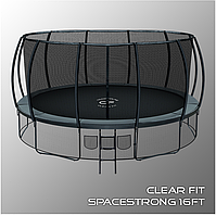 Батуты Clear Fit SpaceStrong 16ft