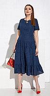 Платье Lissana-3974, темно-синий, 50