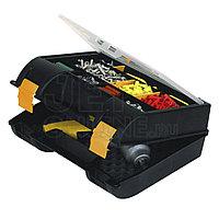 Ящик для электроинструмента пластмассовый с органайзером в крышке