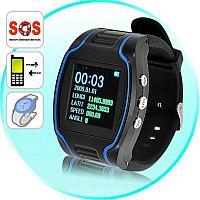 """Часы GPS трекер 1.5"""" LCD Unlocked 1.5"""" LCD GPS Tracking GPRS Cellphone Wrist Watch GSM"""