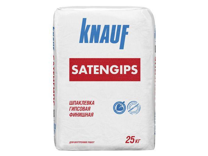 Шпаклевка гипсовая финишная Knauf Сатенгипс