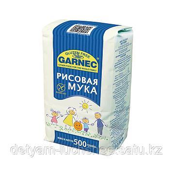 Мука рисовая без глютена, Гарнец, 500 г
