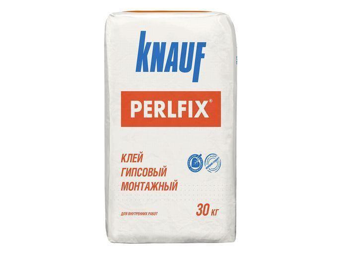 Клей гипсовый монтажный Knauf Перлфикс