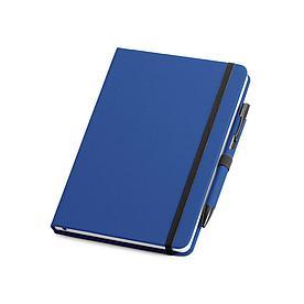 Блокнот A5 с ручкой, синий