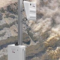Радарная система отслеживания и оповещения о камнепадах и обвалах RockSpot