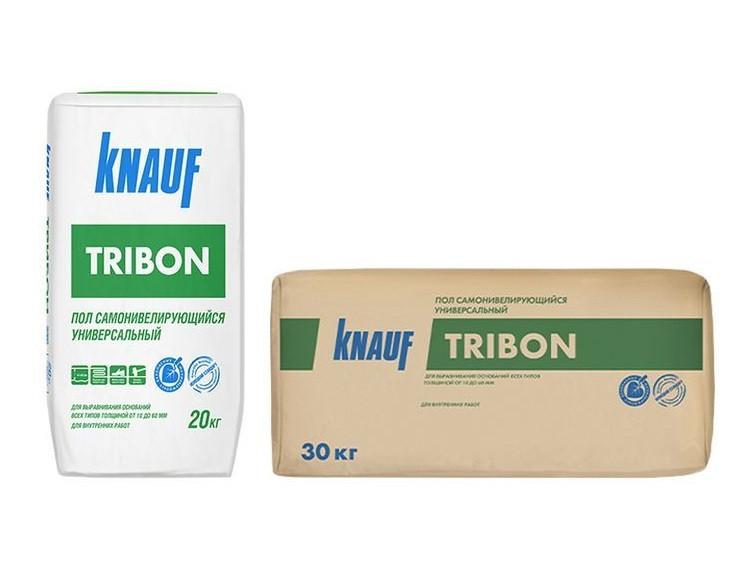 Смесь напольная для стяжек Knauf Трибон