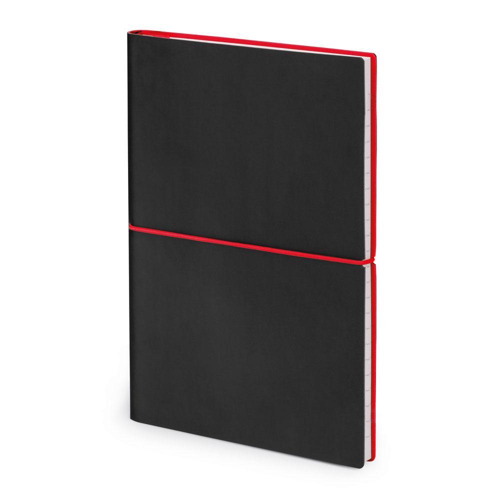 Блокнот формата А5. красный