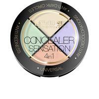 Набор корректор для лица 4 в 1 Eveline Consealer Sesation (комплект из 2 шт.)
