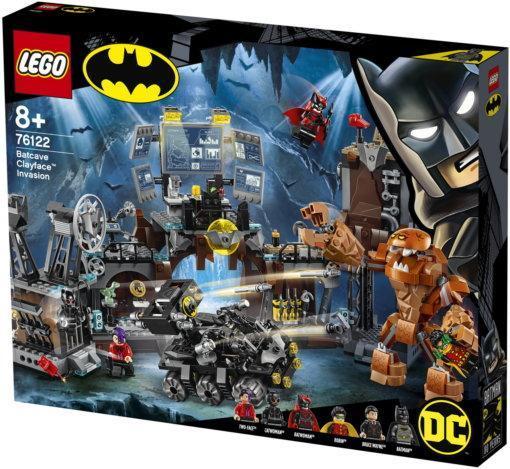 Конструктор LEGO DC Super Heroes Вторжение Глиноликого в бэт-пещеру