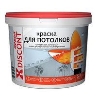 Краска водно-дисперсионная  Ореол для потолка  3 кг (комплект из 4 шт.)