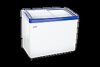 Морозильный ларь Снеж МЛГ-350, синий глянец