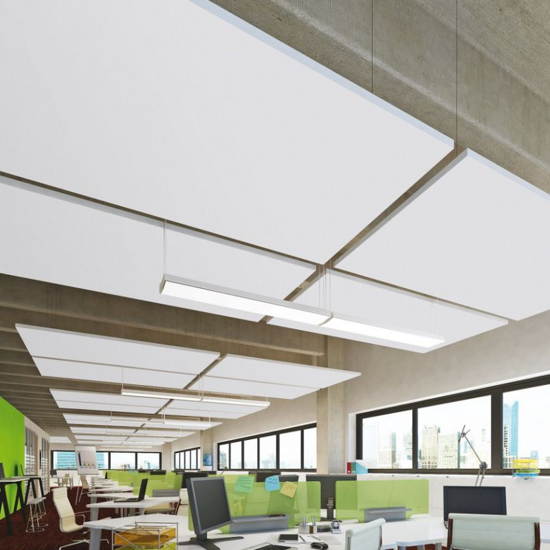 Акустические подвесные панели 1200x600x40 Rectangle