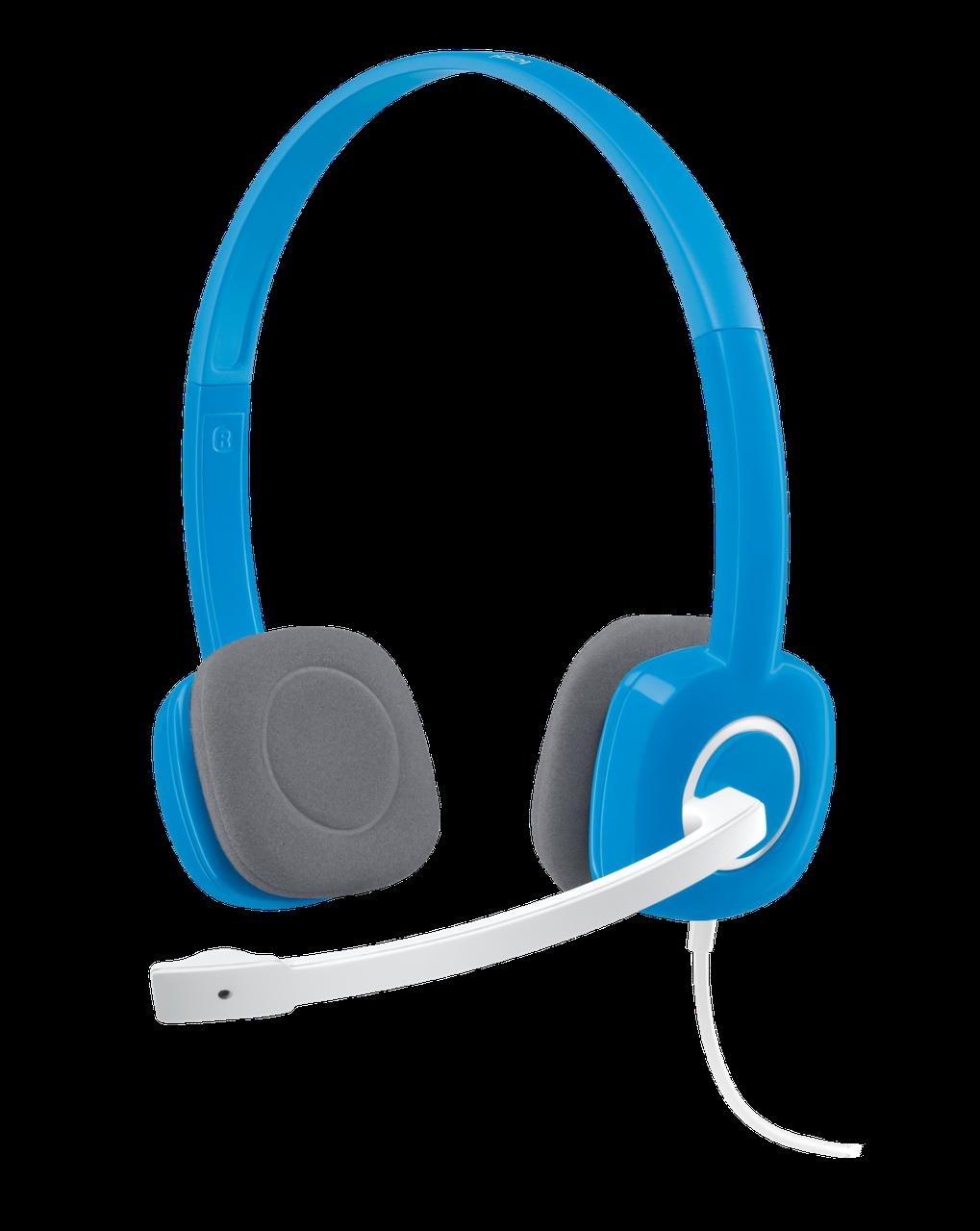 Logitech 981-000368 H150 Гарнитура Stereo Sky Blue