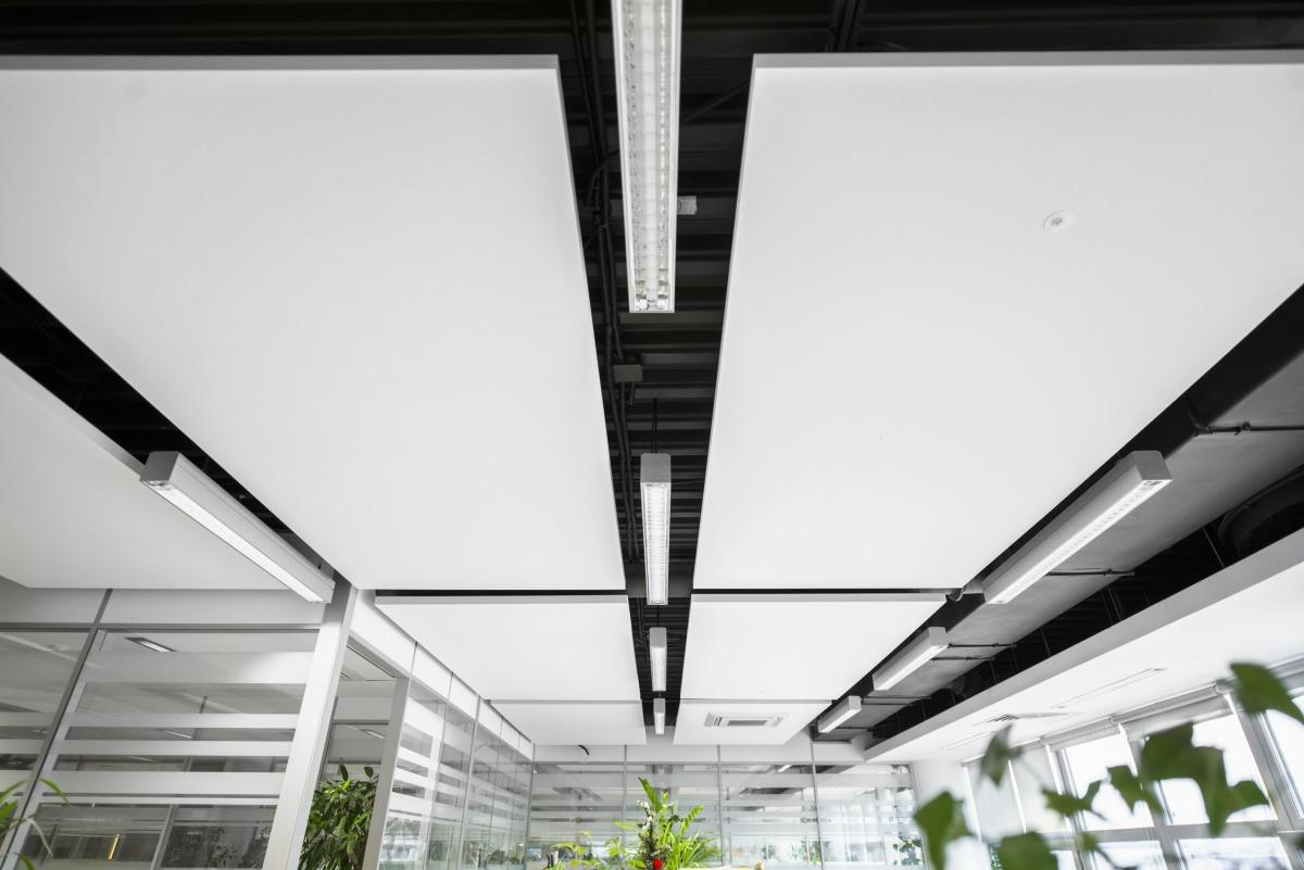 Акустические подвесные панели 1200x2400x40 Rectangle