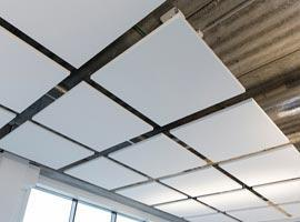 Акустические подвесные панели 600x600x40 Square