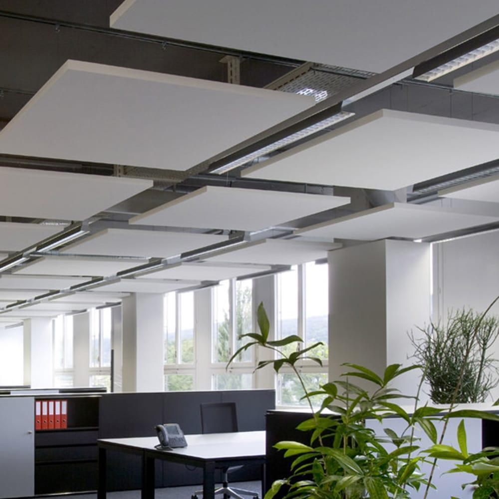 Акустические подвесные панели 1200x1200x40 Square