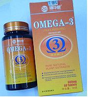 Омега - 3 Рыбий жир БАД, 60 таблеток