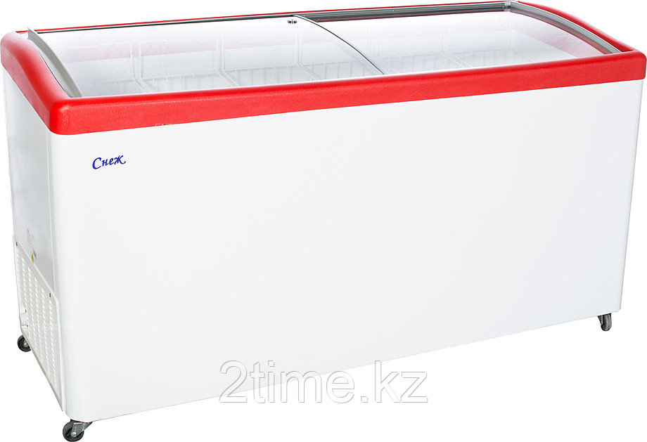 Морозильный ларь Снеж МЛГ-600, красный