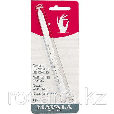 Mavala / Белый карандаш для ногтей