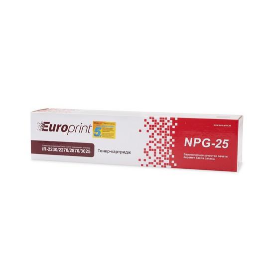 Тонер-картридж Europrint NPG-25/C-EXV-11 Black (21000 страниц)