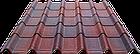 Битумная черепица Ондувилла (ондулин), фото 3