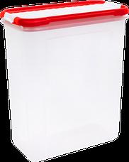 Банка для сыпучих продуктов с дозатором Bono 1,5 л GR2237, фото 3