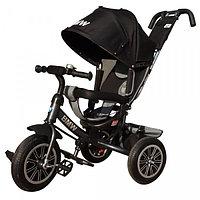Детский трехколесный велосипед BMW черный